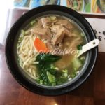 台北で100年の老舗店の牛肉麺!!染みるスープが最高〜★金春発牛肉店(本店)★