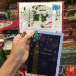 中山駅付近の雑貨屋で発見!台北オリジナルのかわいいクリスマスカード★金興發生活百貨★