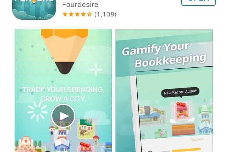 台湾発!一見街づくりゲームに見える楽しい家計簿アプリが超オススメ!★Fortune City★