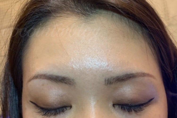 超自然な眉毛タトゥのマイクロブレーディング2回目体験談!割引コードあり★Slesh Beauty★